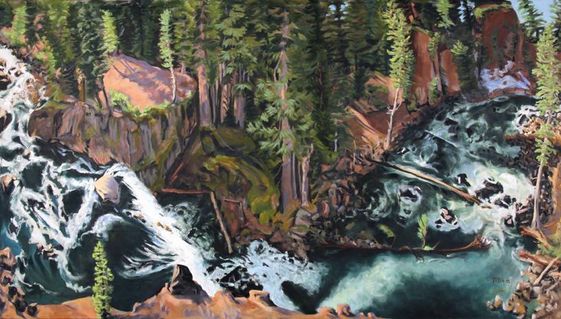 McCloud River Upper Falls, CA